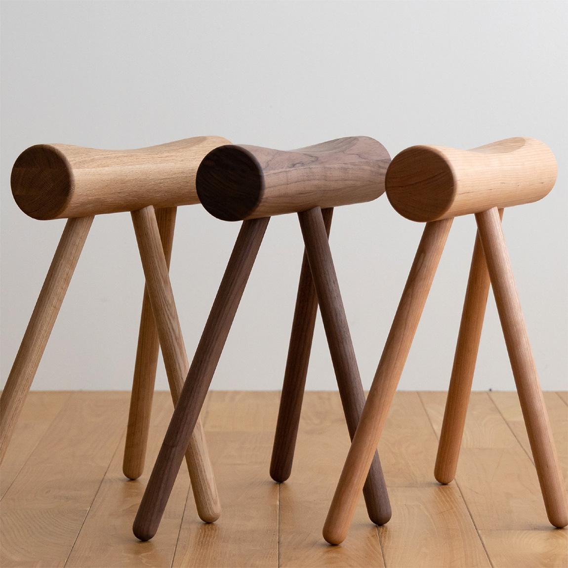 entrance stool(oak,walnut,cherry)