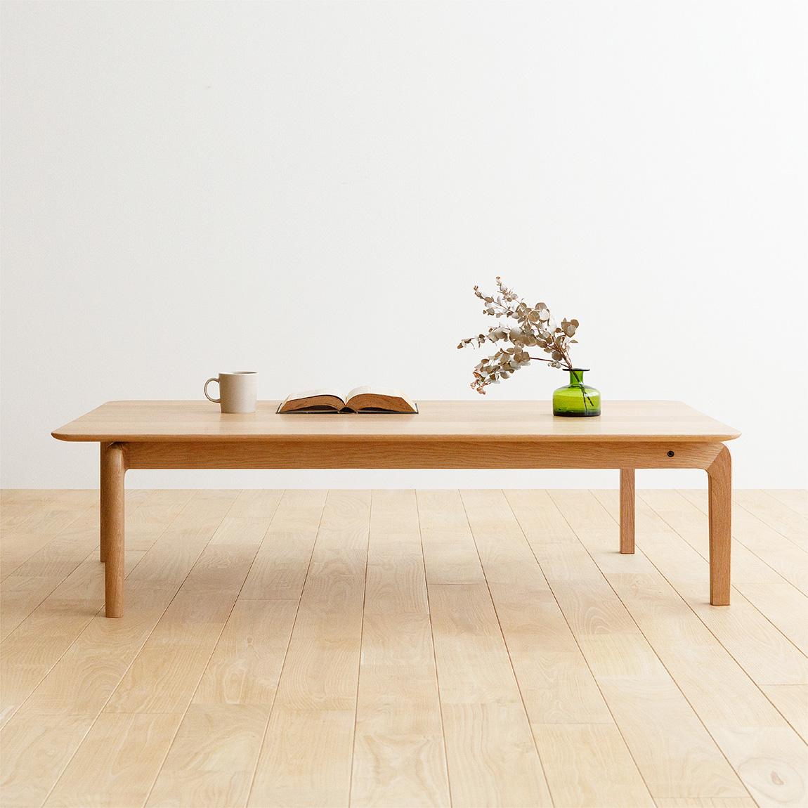LISCIO Low Table 126*70 / oak